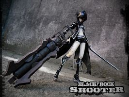 BLACK ROCK SHOOTER by jhuino69