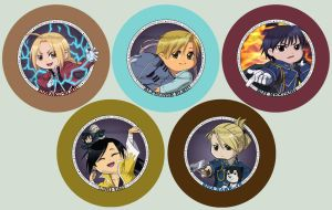 FMA Button Set by DATwinz