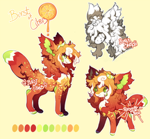 {Quick Auction} - Burst of Citrus (open) by PhloxeButt