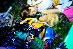 Yuna and Tidus by Echow88