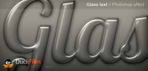 Glass Effect for text and shapes by DuckFiles