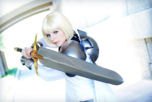 Clare the Claymore by BOiKEM