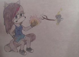 Luna and Sparky xp by handcuffs4ever