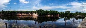 Fort Macomb (Pano) by Deoradhain