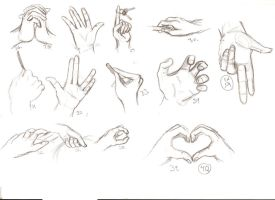 Hands 26-40 by Linnzy