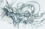 Bioshock Infinite Sketch by curry23