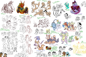 --::. PMD-E Sketch Dump by TeaDino