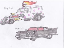 Twisted Metal Original concepts by Demonizer68
