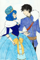 The Water Queen and the Ice Knight by Nadalien