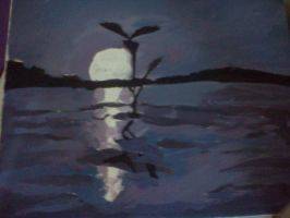Moonlight Lake by CreaturefromtheVoid