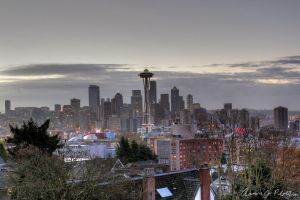 Seattle Skyline HDR 1 by photoboy1002001