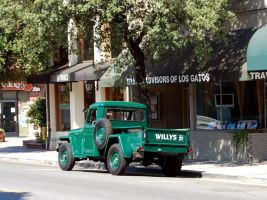 Willys Jeep Pickup Truck 1950s by Partywave
