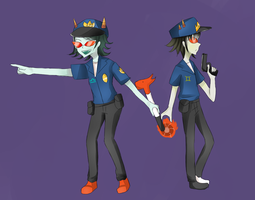 Trollcops by CherryPaper