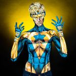 Booster Gold Bodypaint by KayPikeFashion