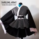 Jack Skellington Cosplay Kimono Dress by DarlingArmy