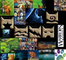 warrior cat collage by goldfish1234