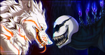The grinning beasts by NinjaKato