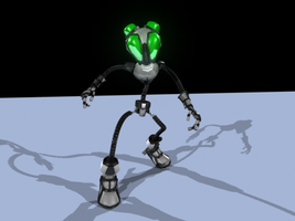 Robot : Posed by OnyxSerpent