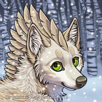 Winter Nym Icon by Shadow-Wolf