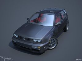 VW Golf 3 GTI 19 by cipriany