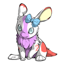 Free Bunny Adoptable (CLOSED) by Doom-Duck