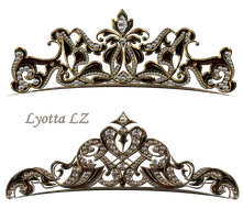 Royal jewelry tiara by Lyotta