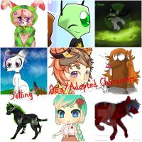 Selling Old OC/Adopts by alicedoodlebug