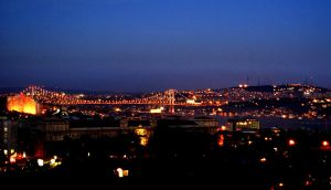 The Bosphorus at Twilight by Fuyou-hime