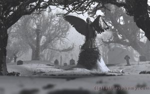 The Black Angel (Winter) by dblasphemy