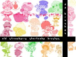 Vintage Strawberry Shortcake by drawrbabe