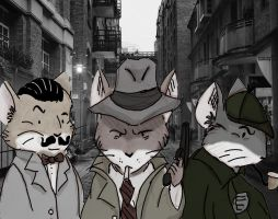 Detectives Noir by WulfFather