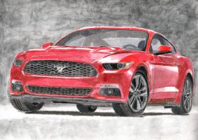 2015 Ford Mustang by kaixax555