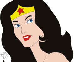 Wonder Woman by bellaalves