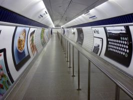 Leicester Square Tube Station [Landscape] by ggeudraco
