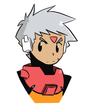 Gray ZXADVENT by WaywardDoodles