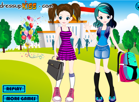 Twins I Made in a game by Nadeeta