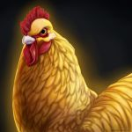 Golden Rooster by SavannaW