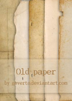 Old paper by geverto