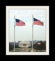 The Lincoln Memorial by dream-n-pink