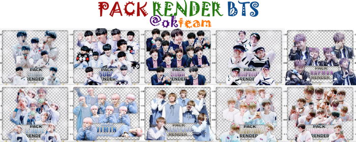 2017311 PACK RENDER BTS OK TEAM by okteam