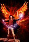 Ezekiel: Angel of Fire by suntwirl