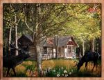 Hunting Lodge, Co. Beltrionas by aigha