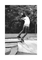 Skateboarder 4 by PoisonAlice