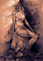 Pre2010 Figure Drawing 2 by ChimeraPathogen