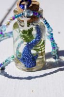 Whale Shark in a Bottle by ArachRoy