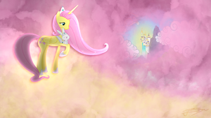 Fluttershy - Alicorn Goddess by Jamey4