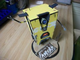 12 inch Handmade claptrap standee by Metallica005