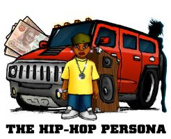 The Hip-Hop Persona by DPencilPusher
