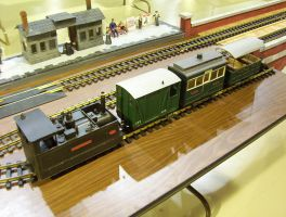 G Scale British Train. by LNERA4