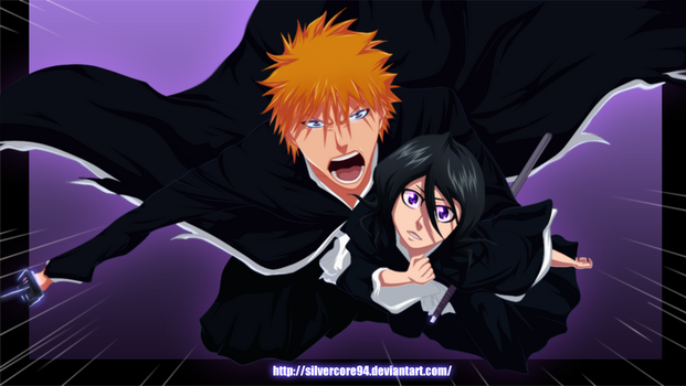 Bleach: Ichi x Ruki by SilverCore94